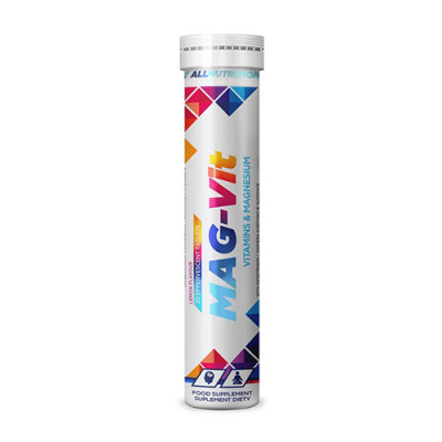 Šumeče tablete Magnezij + vitamini