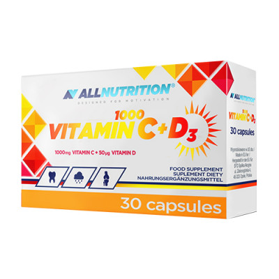 Vitamin C + D kapsule