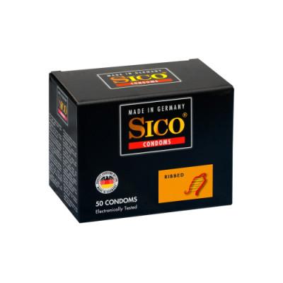 Kondomi SICO Ribbed