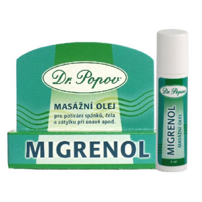 Migrenol roll-on masažno olje