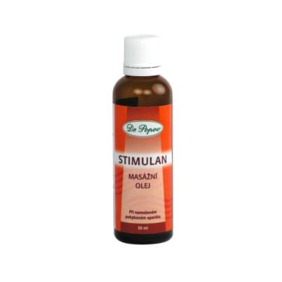 Stimulan olje za lokalno masažo