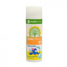 Krema za sonce za otroke in dojenčke SPF 45, 50 ml