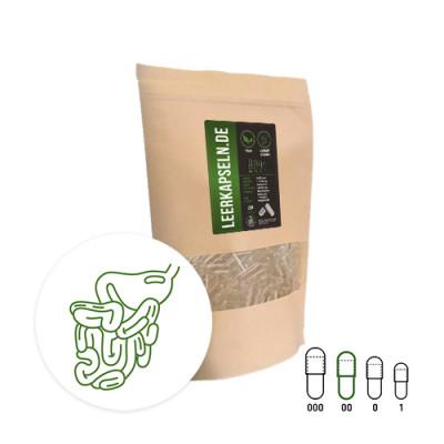 veganske prazne kapsule odporne na želodčno kislino