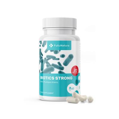 Probiotik in prebiotik Biotics Strong