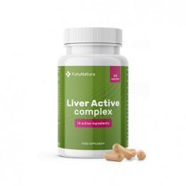 Liver Active kompleks, 60 kapsul