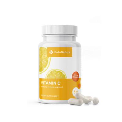 Vitamin C slow release