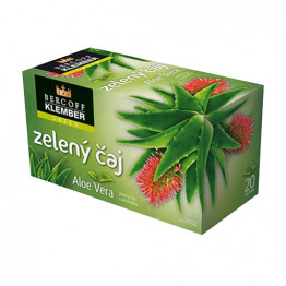 Zeleni čaj z aloe vero, 20x1,5 g