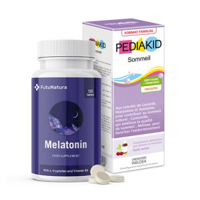 Melatonin + Miren spanec, sirup za otroke