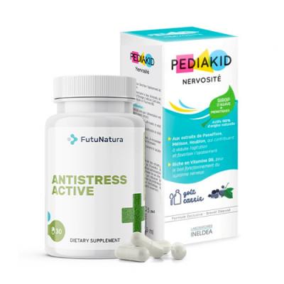 AntiStress kapsule + Pomiritev, sirup za otroke