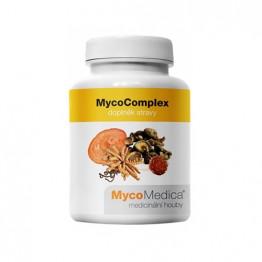 MycoComplex, 90 kapsul - mešanica 4 gob