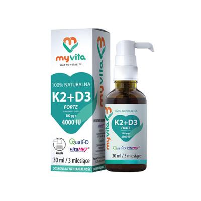 Vitamin K2 + D3 v kapljicah