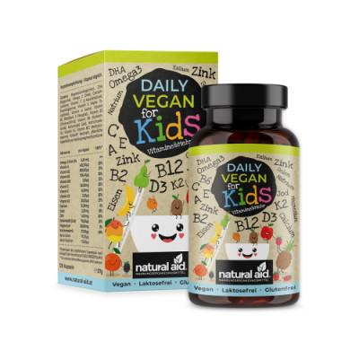 Veganski vitamini in minerali za otroke