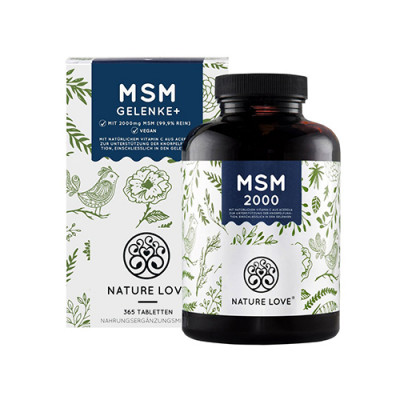 MSM tablete