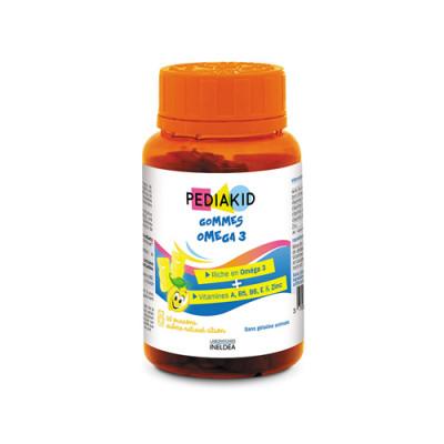 Omega 3 z vitamini za otroke, 60 gumi medvedkov