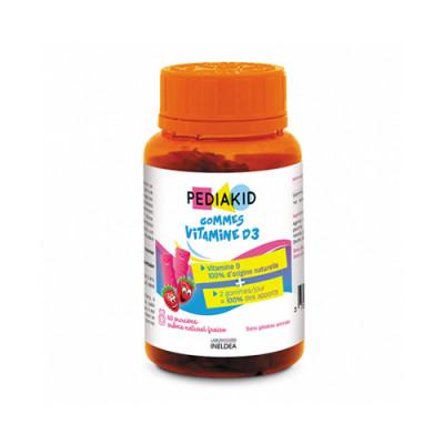 Vitamin D3 za otroke, 60 gumi medvedkov
