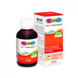 Železo + B vitamini, sirup za otroke, 125 ml