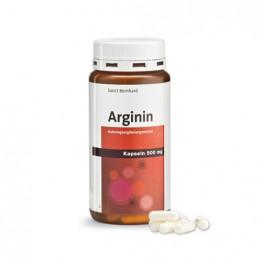 L-Arginin 500 mg, 150 kapsul