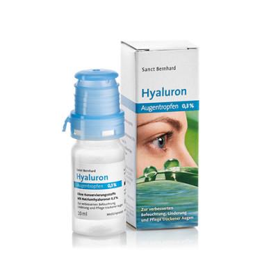 Kapljice za oči s hialoronom