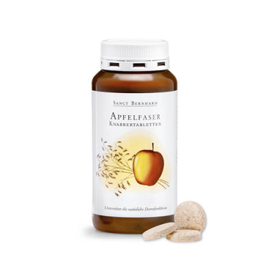 Jabolčne vlaknine tablete