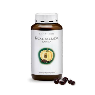 Olje bučnih semen kapsule