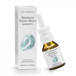 Pršilo za nos z morsko soljo in hialuronsko kislino, 20 ml