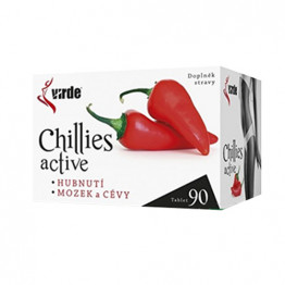 Chilli Active, 90 tablet