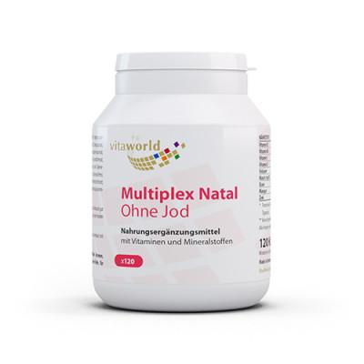 Multivitamini in minerali brez joda za nosečnice