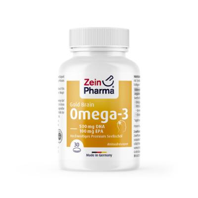 Omega 3 Gold možgani