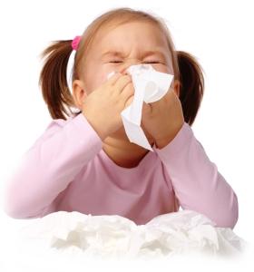 Pršilo za nos za otroke